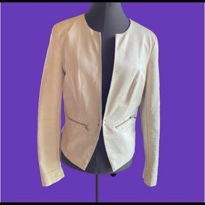 Black Rivet Faux Leather Jacket MAKE OFFER